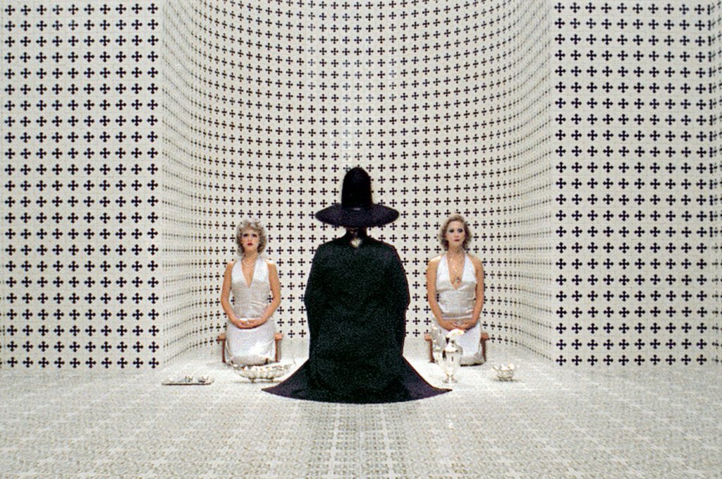 Screenshot from The Holy Mountain (1973)