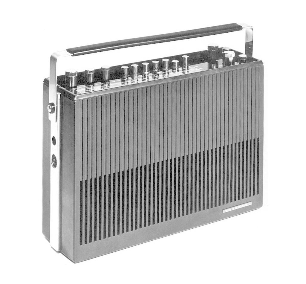 Portable Radio designed for Tandberg, 1965