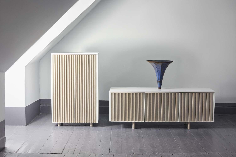 dB Sideboard and cabinet by Jonas Stokke & Øystein Austad of StokkeAustad.  Photo: Ann Holmgren