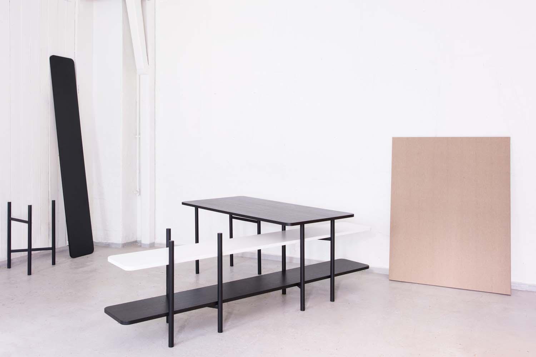UN Divided Furniture Series by Jonas Stokke & Øystein Austad of StokkeAustad for Elementa.  Photo: Svein Gunnar Kjøde