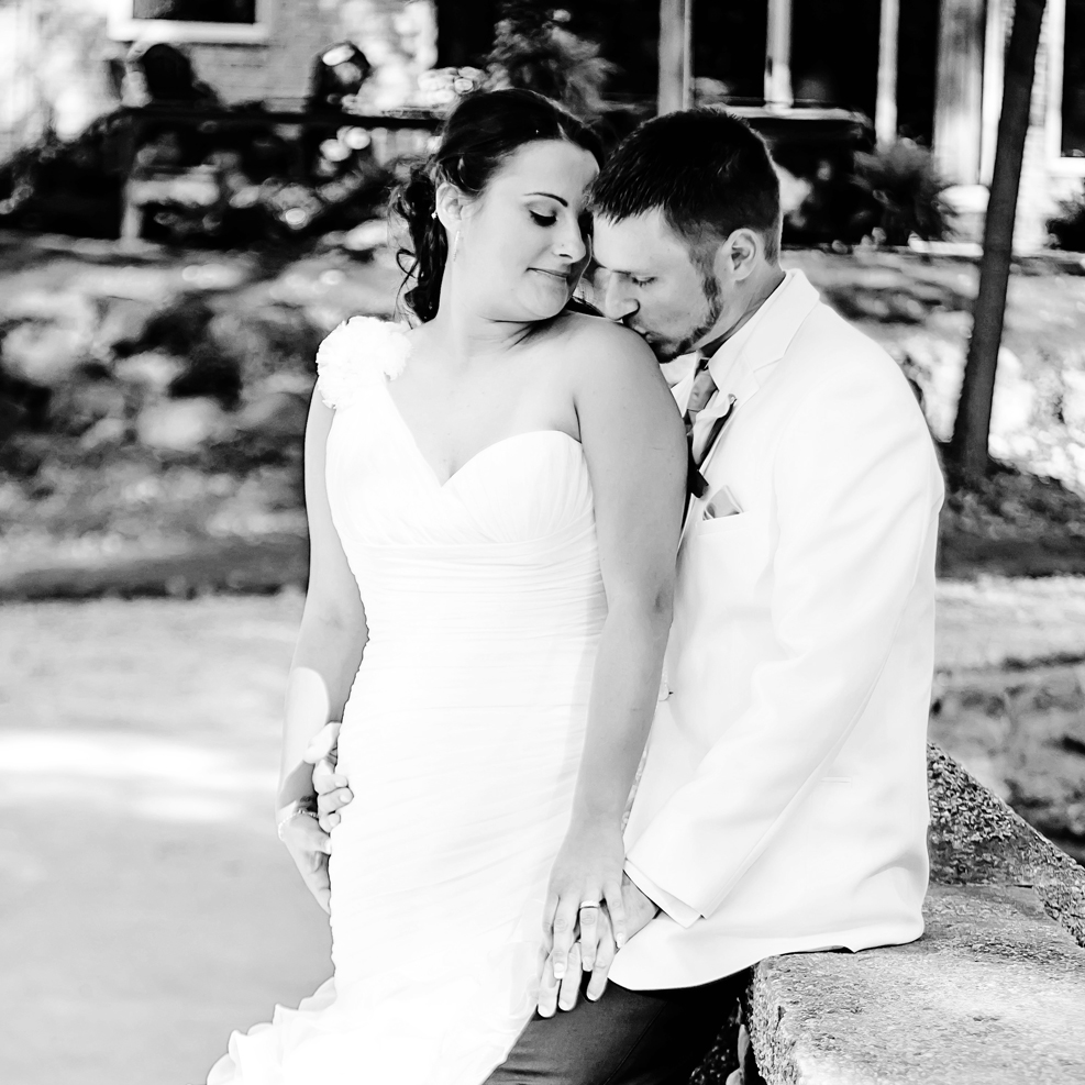 """MEAGHAN & DARYL SHEPHARD     Wedding Client    """"Nicki was amazing! She did everything we wanted and more. I couldn't have asked for anyone else to capture our wedding day!!!"""""""