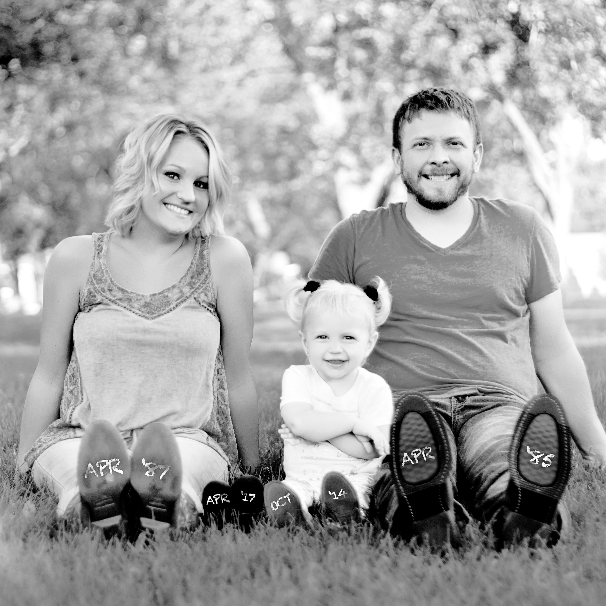 """RYAN BARRUS     Photography Client    """"Nicki did our baby announcement photos and everyone LOVED them! She is talented, not only behind the camera and computer, but from an originality perspective...all of our friends want her to do their baby announcement photos now!"""""""