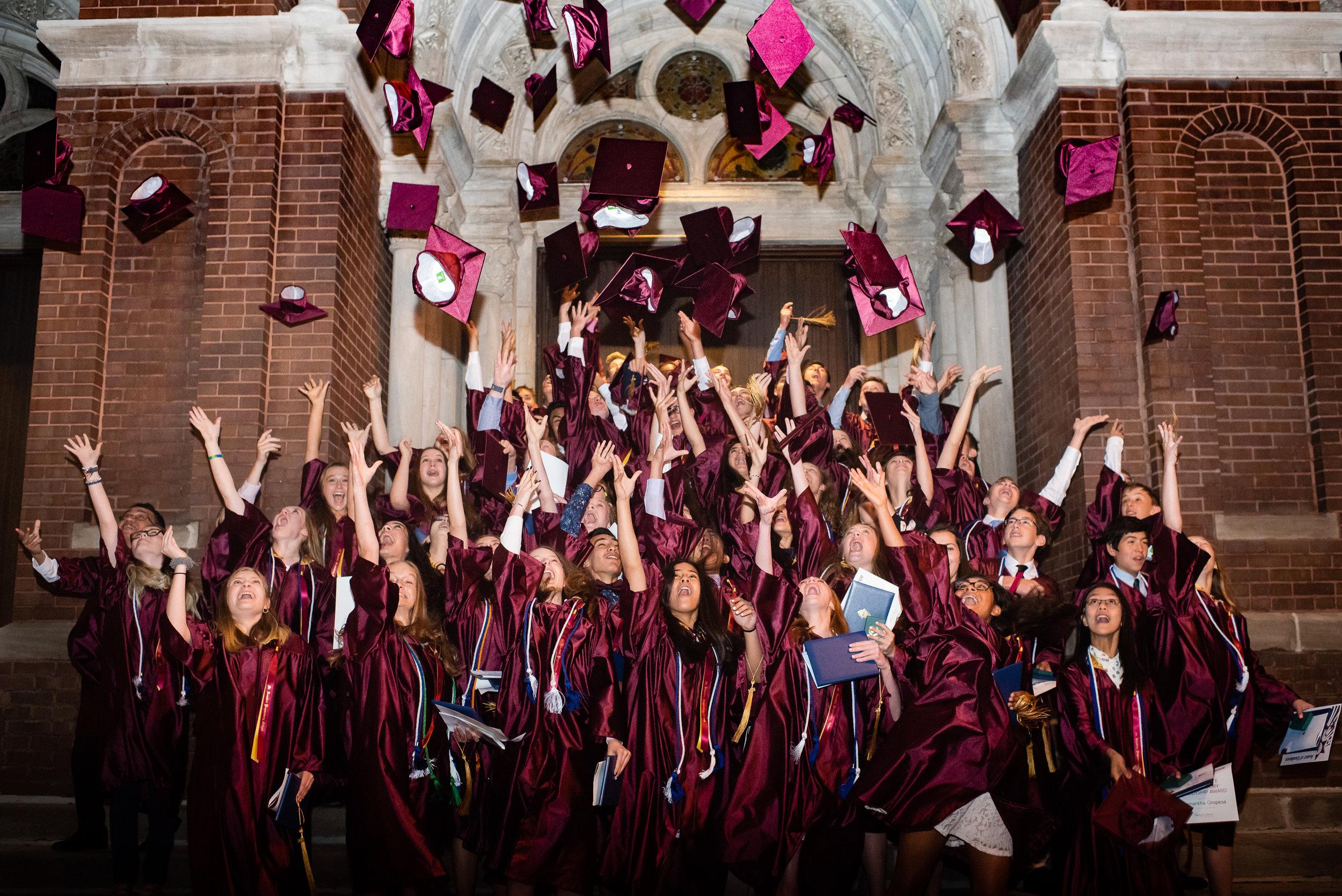 8th grade grads hats.jpg