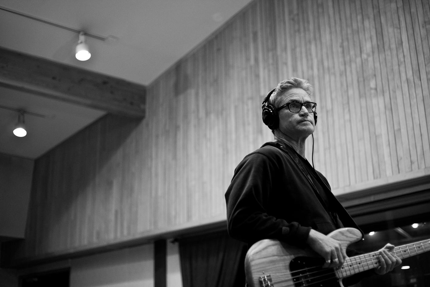 Tom Melancon recording at London Bridge Studio.