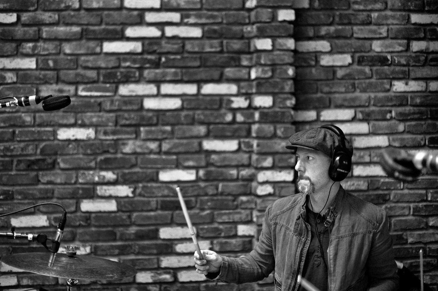 Davis Martin recording at London Bridge Studio.