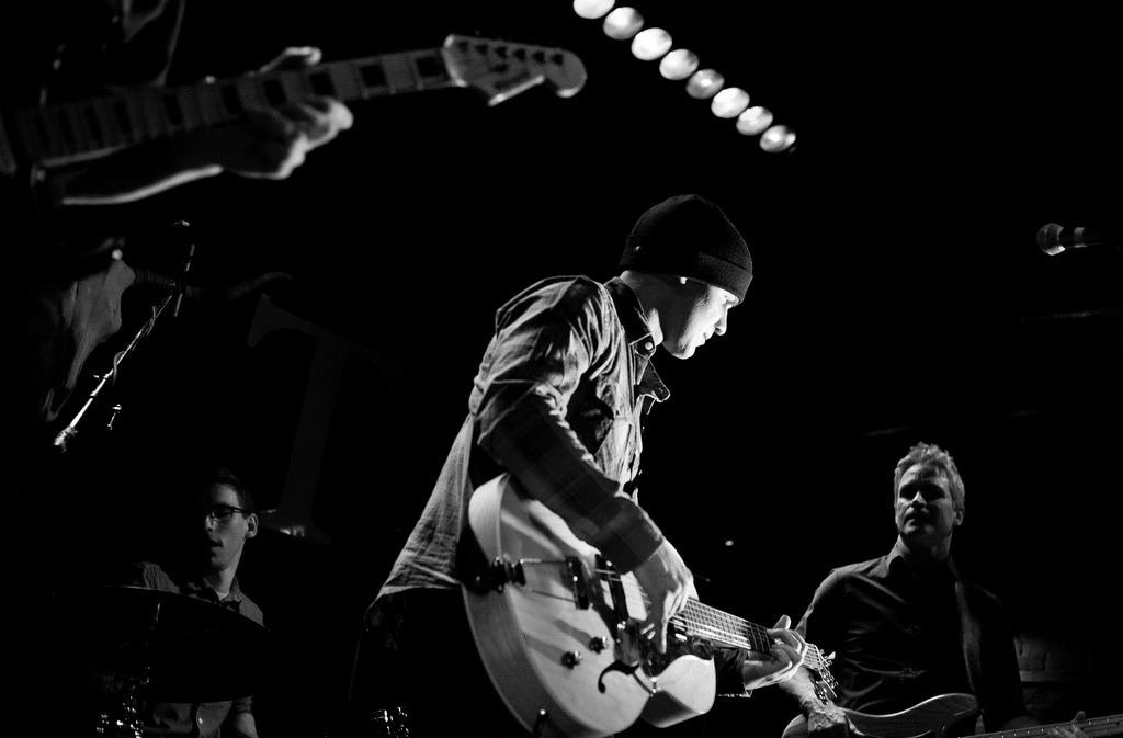 Angelo Delsenno & The Empty Sky performing at the Tractor Tavern in Ballard.