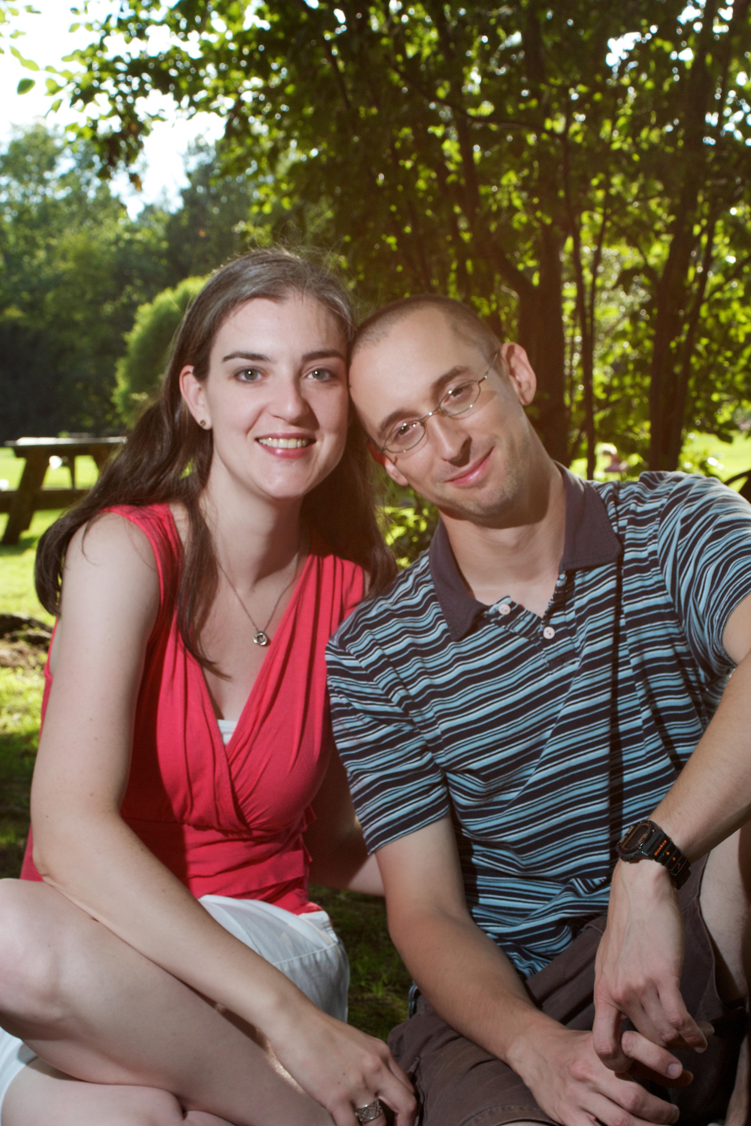 Megan and Bryan