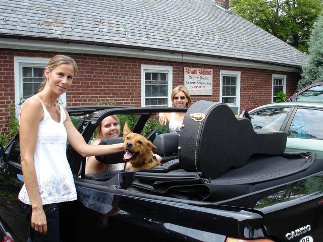 Chanin's dog Jaxon on his first NDV!