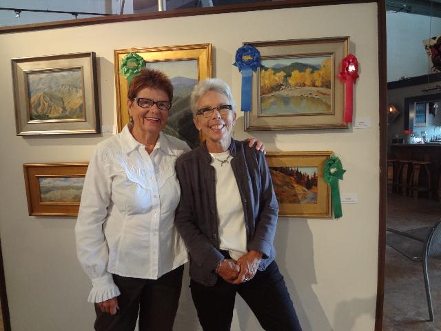 Wilderness Coordinator bonnie Freeman and Jane Hurd