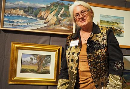 Artist Karen Glancy