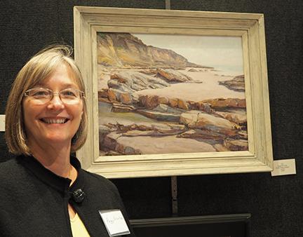 Artist Peggy Brierton