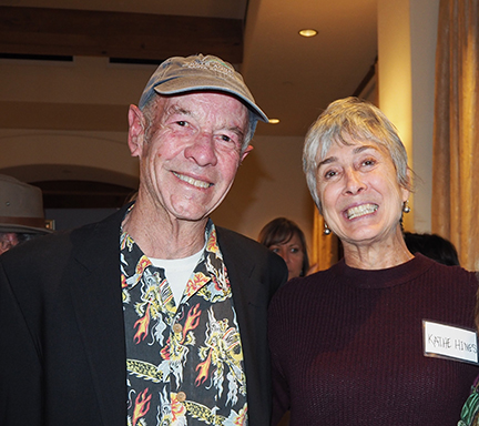 Artists Larry Iwerks and Kathe Hines