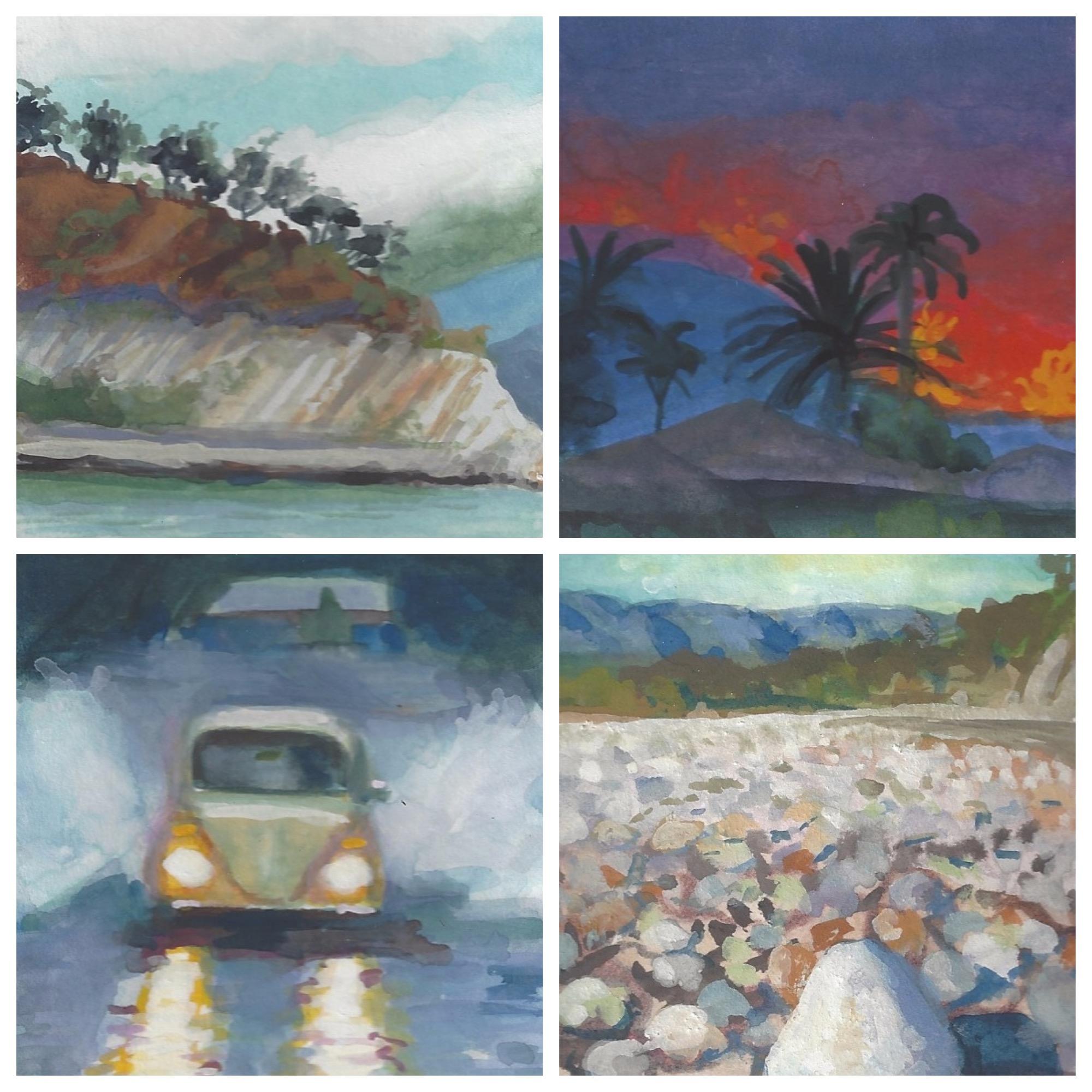 CA 4 SeaSons - Earthquake, Fire, Flood and Drought,