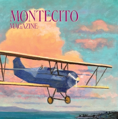 Montecito Magazine - Cover and Earle Ovington Feature Story Pg. 20Artist Biography feature Pg. 50