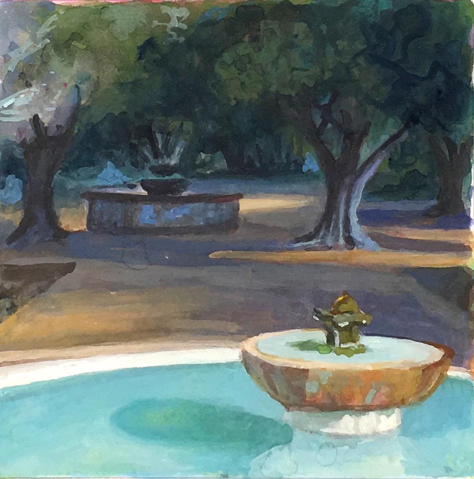 La Purisima Fountain