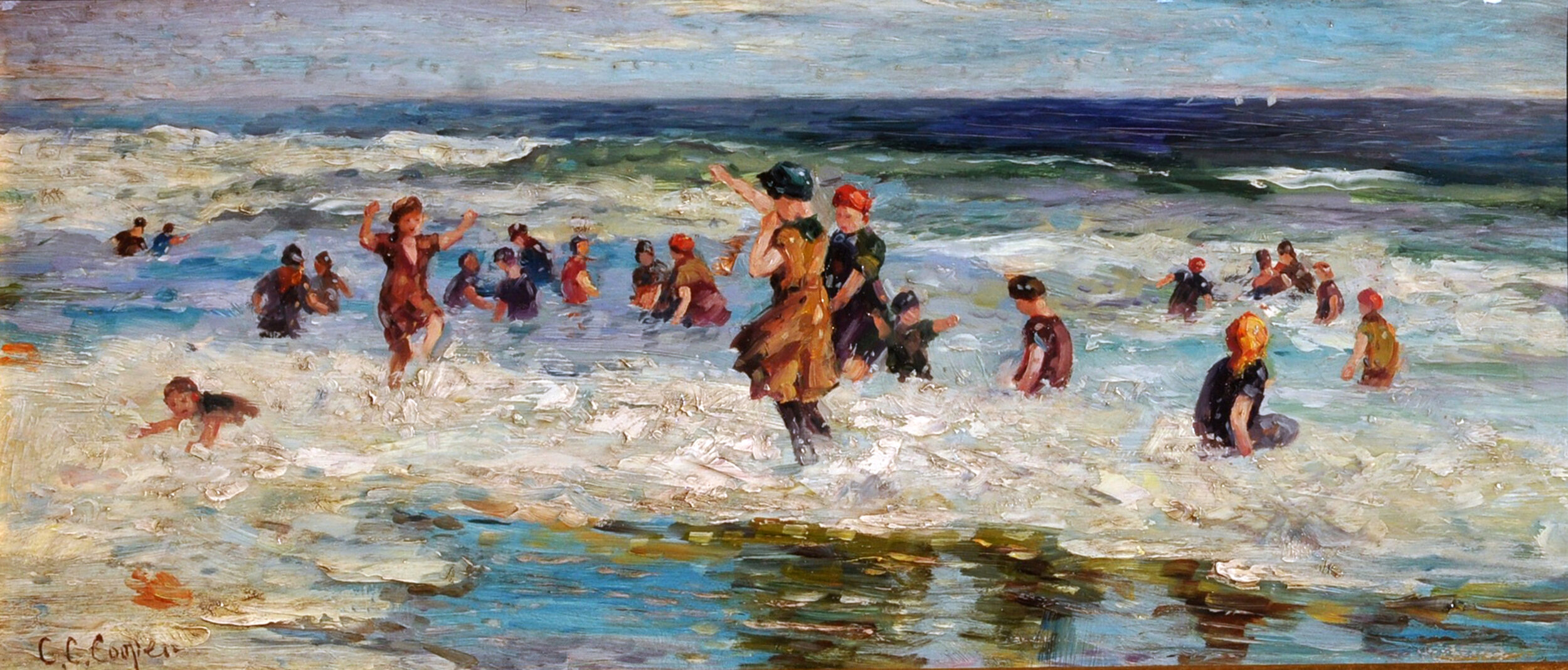 Cooper Women Playing in Surf.jpg