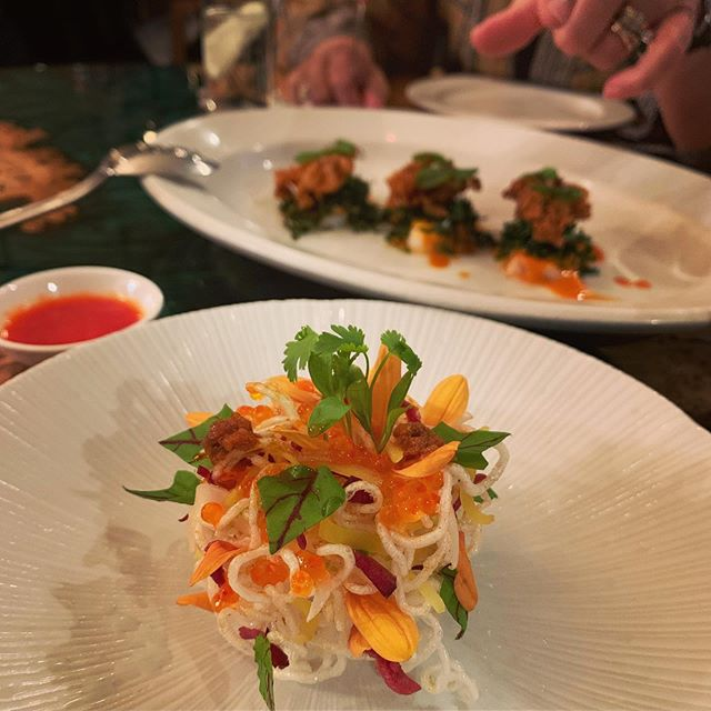 """Taste of China"" at A. Wong. Best of 2019 (so far) 🙌 @todineapp"