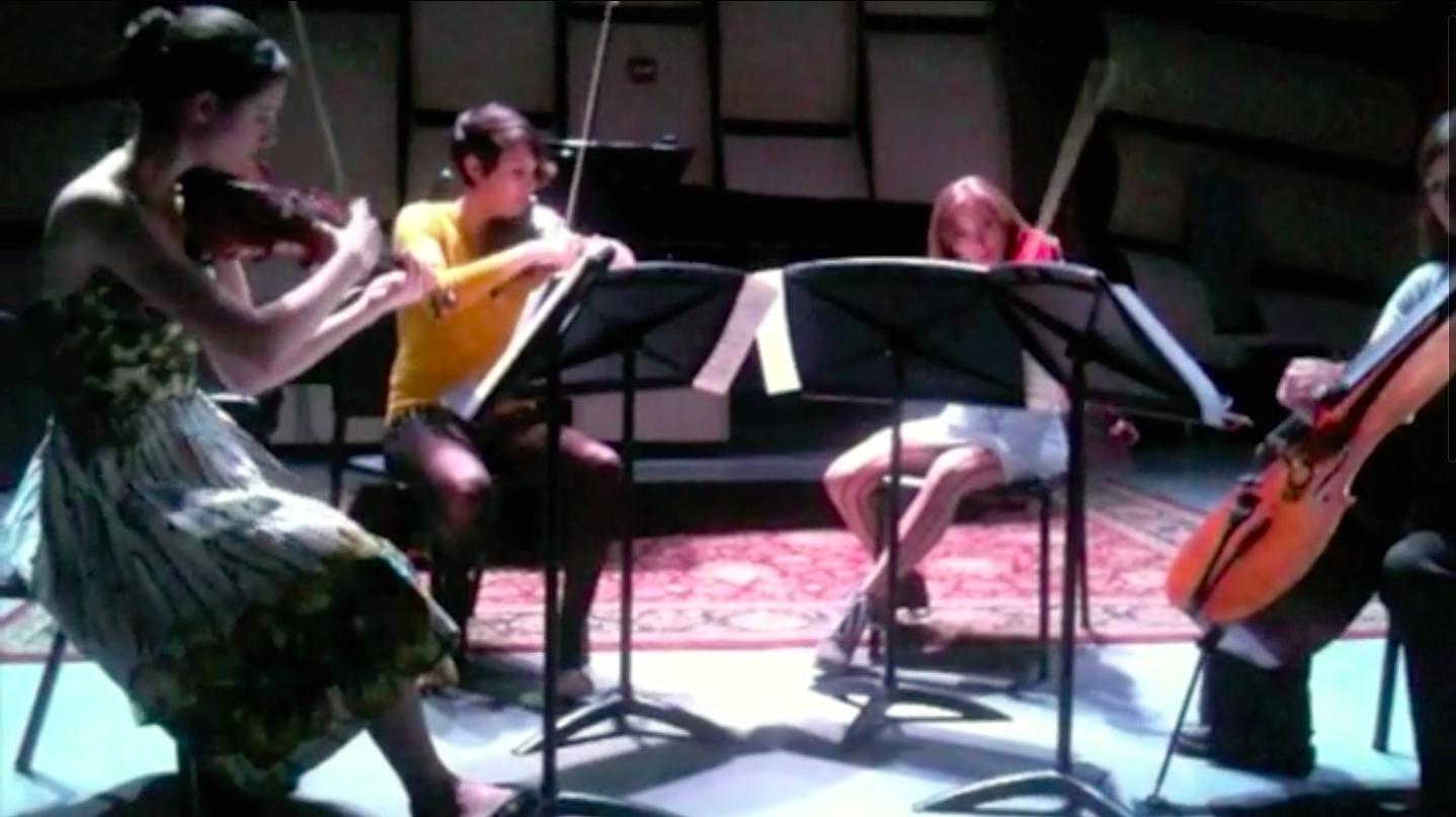 Ravel String Quartet: the very first ISQ performance