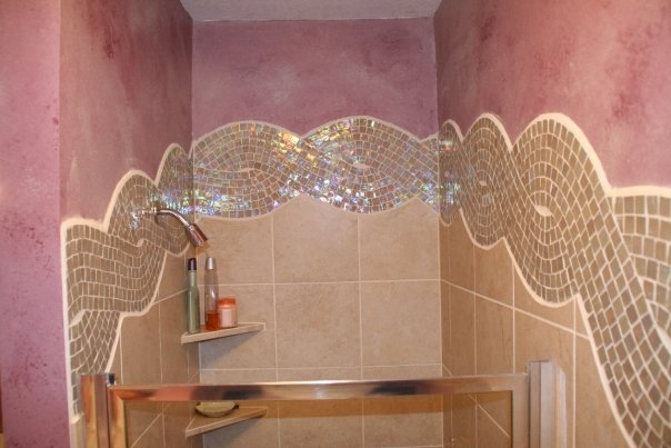 Glass Rope Shower