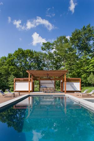 Modern Poolhouse, Greenwich, CT