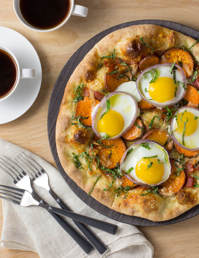 Sweetpotato Breakfast Pizza