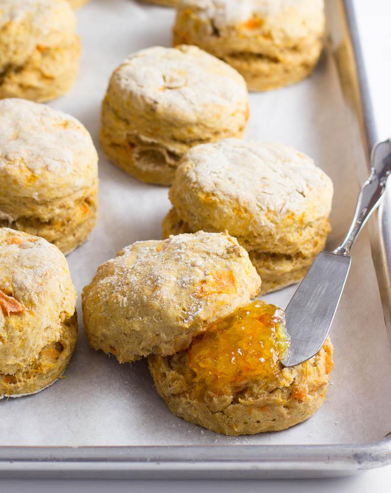 Sweetpotato Biscuits