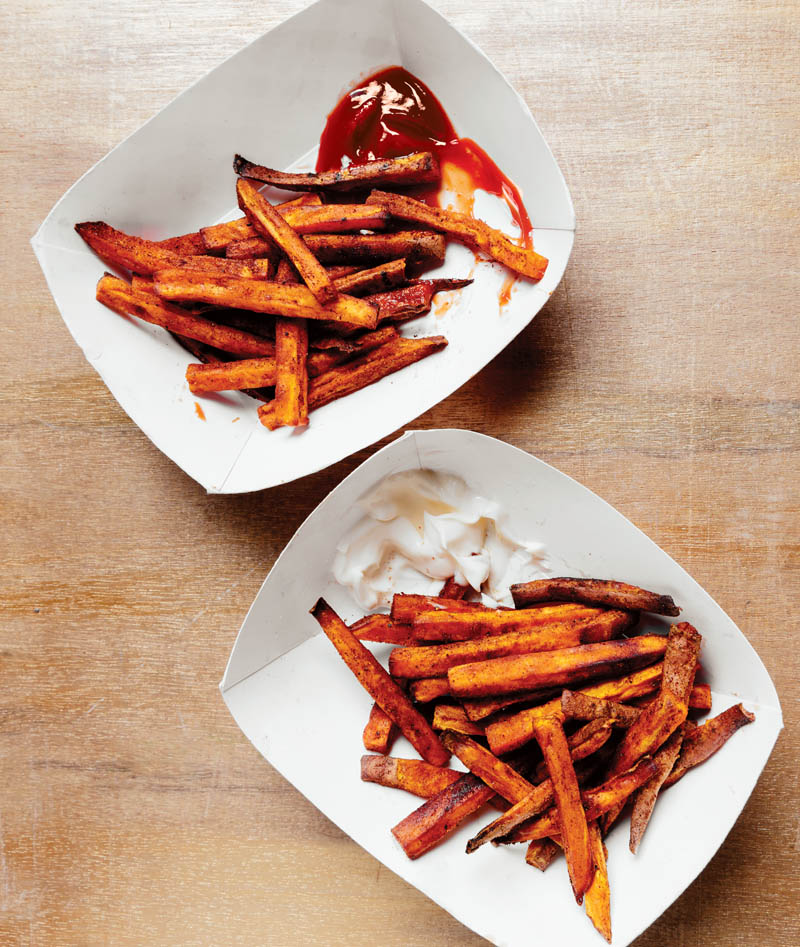 Sweet Potato Fries The Easy Way