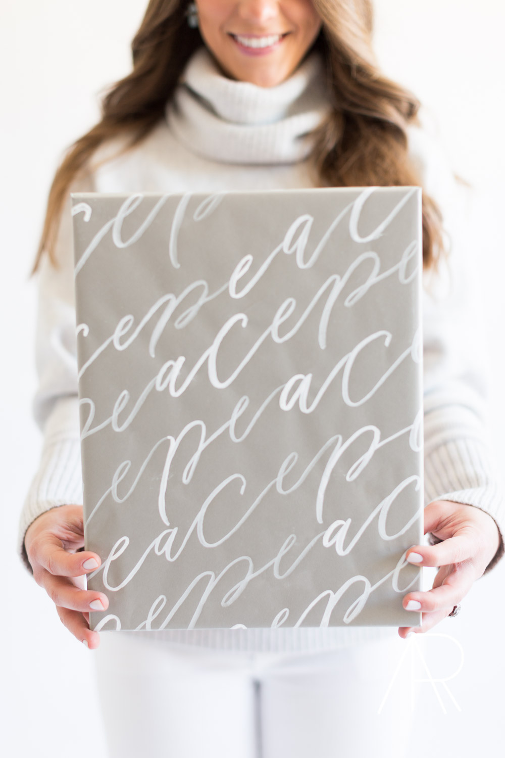 ©AlyssaRosenheck2015 Holiday wrapping paper with Amy May Paper and Style Me Pretty Living