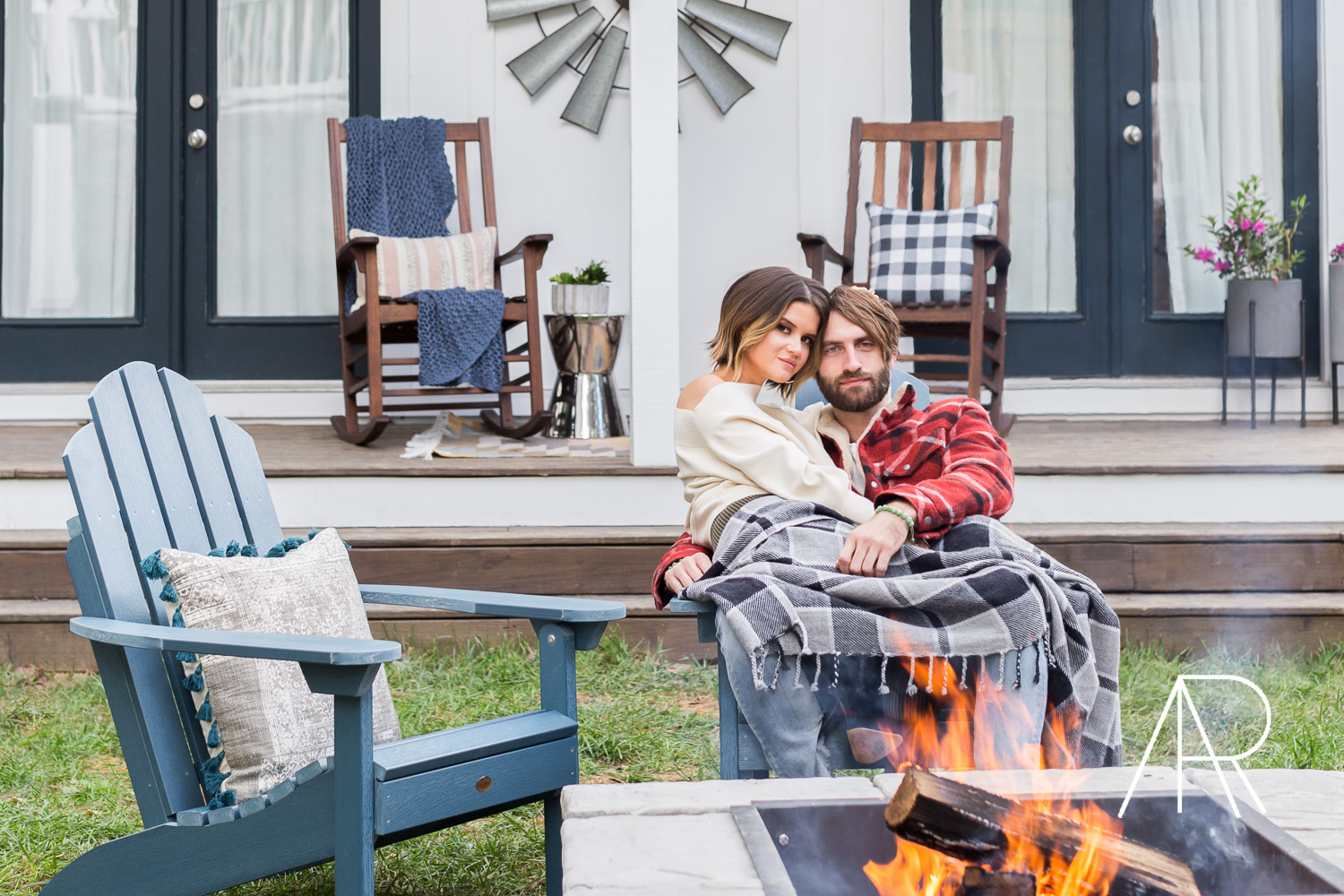 Alyssa Rosenheck founder of The New Southern Wayfair and People Magazine Shoot with Maren Morris and Ryan Hurd ©AlyssaRosenheck