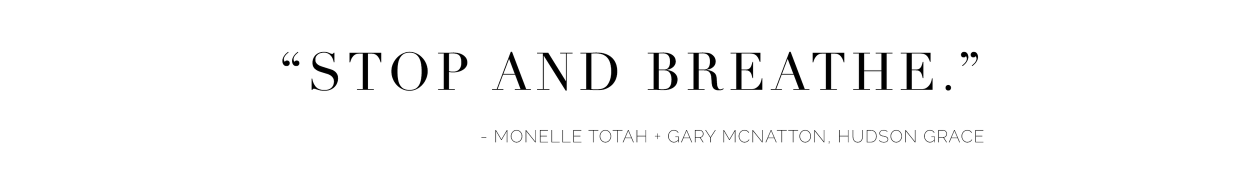 Alyssa Rosenheck's The New Southern Entrepreneur Spotlight with Monelle Totah + Gary McNatton, Founders of Hudson Grace of San Francisco, CA