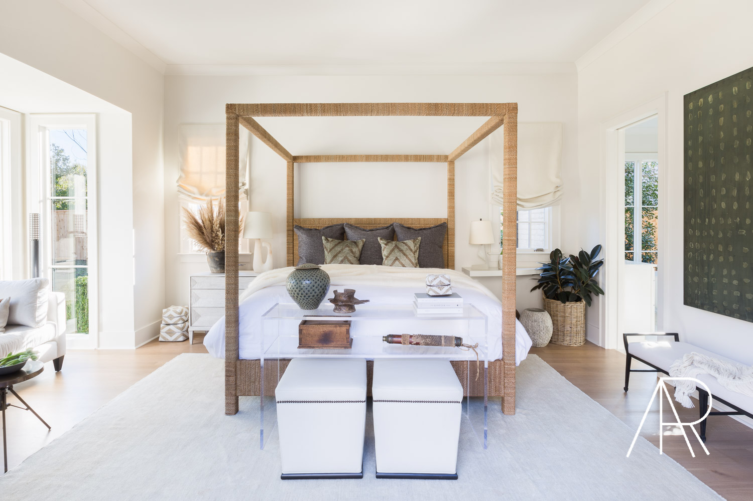 ©AlyssaRosenheck Alyssa Rosenheck's The New Southern Designer Spotlight with Sean Anderson, Interior Designer of Memphis, TN Master Bedroom