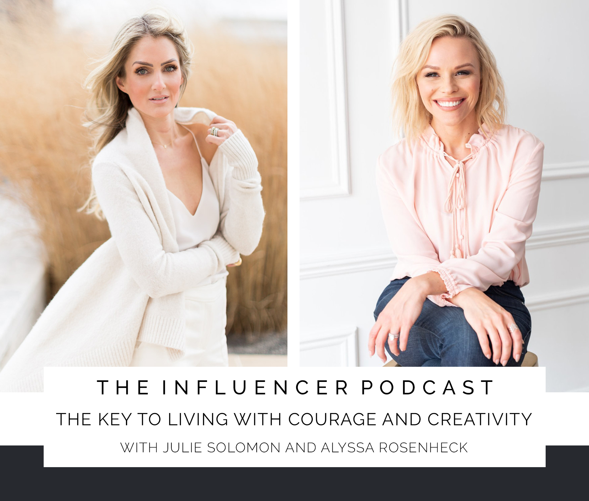 Alyssa Rosenheck and The New Southern with Julie Solomon's The Influencer podcast - Creativity Courage Cancer Survivor - nashville tn