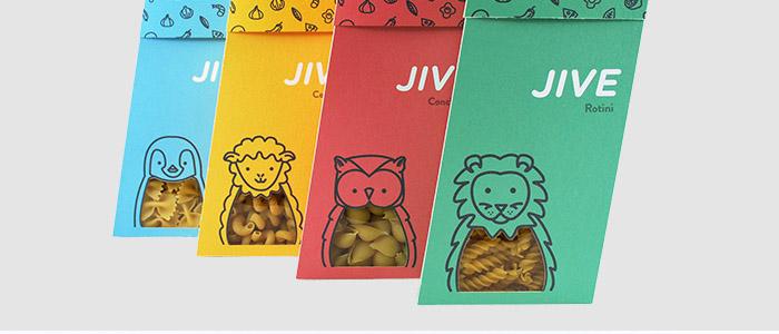 JIVE   —  branding, packaging, illustration