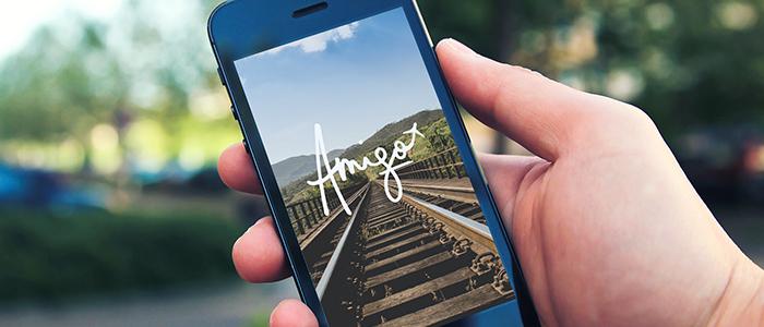 AMIGO    —  branding, ui/ux