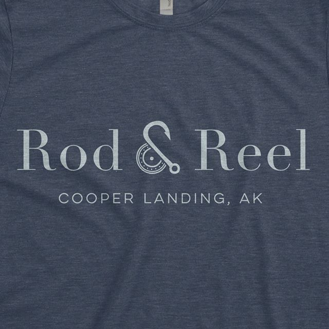 New brand identity for Rod & Reel, the new restaurant inside the Kenai Princess Lodge.