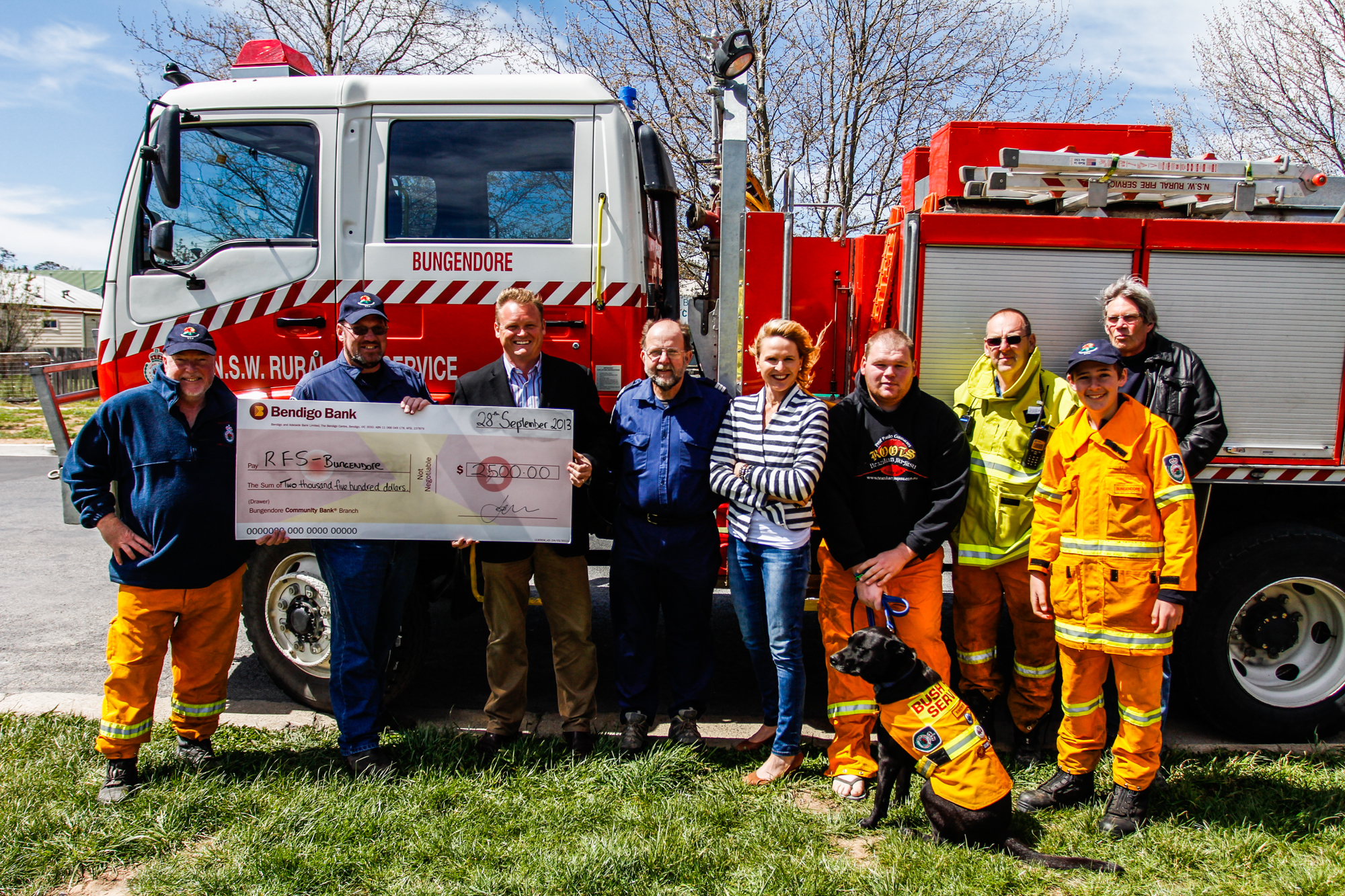 Presentation of the Donation during our open day.
