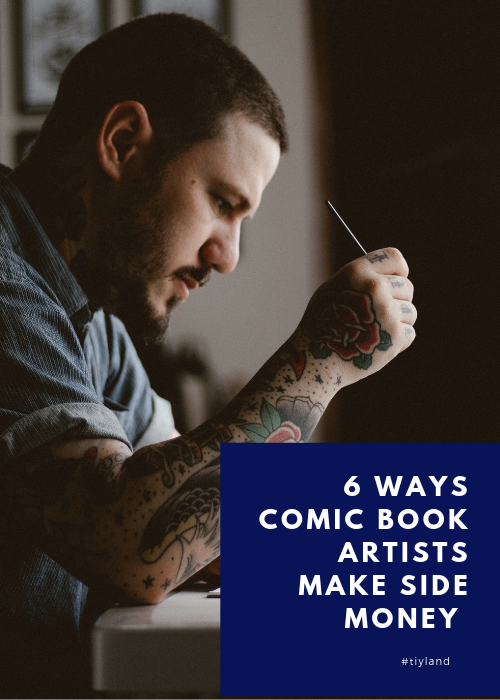 6 Ways comic book artsits make side money.png