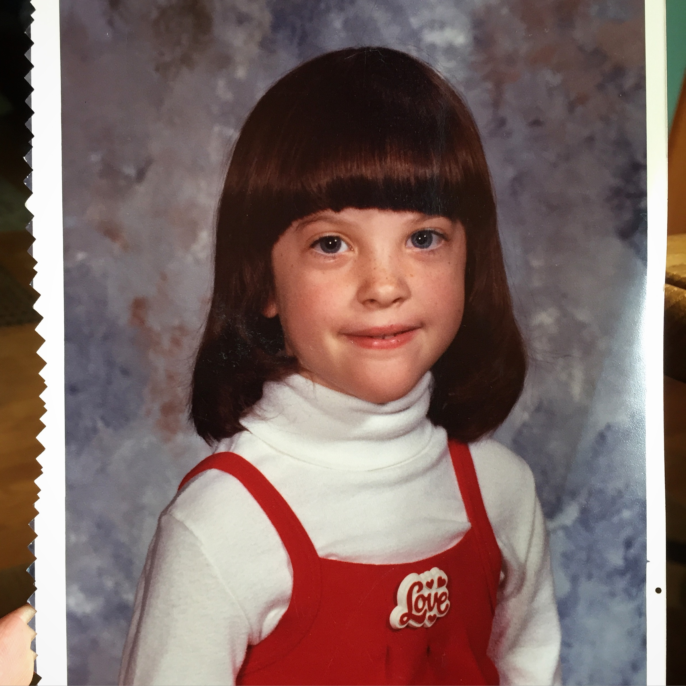 ME in 1st grade (I think) 1982ish. Yes my shirt says LOVE.
