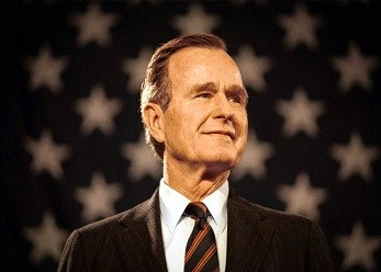 George H. W. Bush  - 41st President of the United States, 43rd VP, 11th Director of CIA,  2nd Chief of the U.S. Liaison Office to the People's Republic of China, 10th United States Ambassador to the United Nations, Member of the U.S. House of Representatives from Texas's 7th district, Lieutenant United States Navy WWII