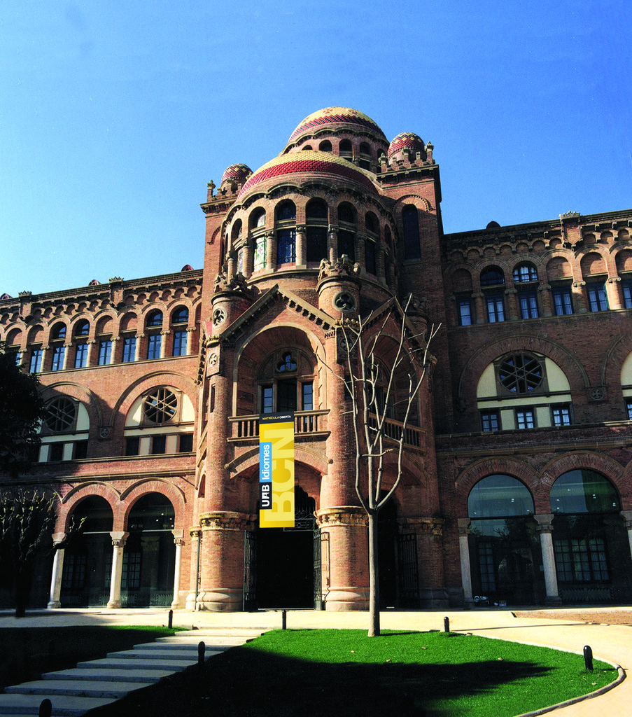 The UAB building which will host our conference is a UNESCO World Heritage site