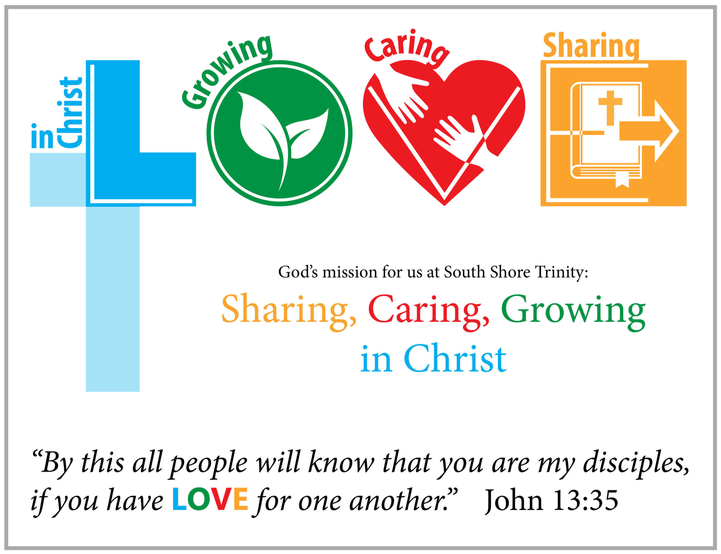 Click on the image above to learn more about who South Shore Trinity is, and what we feel God expects of us.