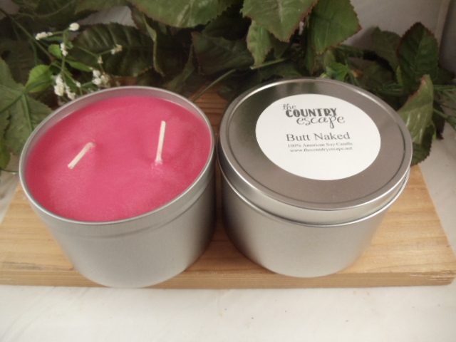14 Oz Soy Candle In Tin The Country Escape