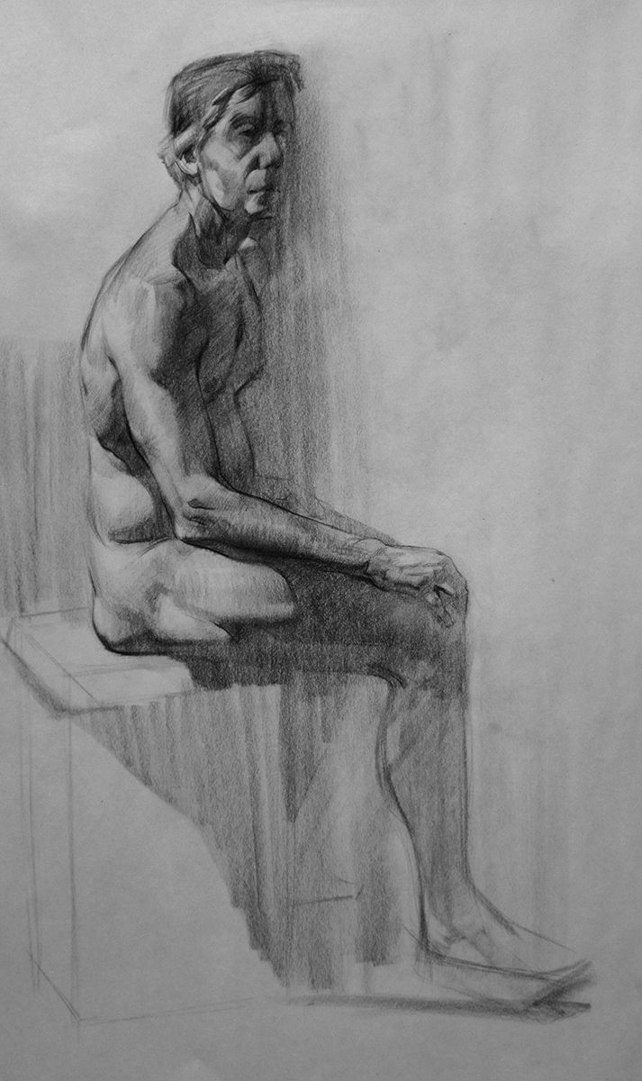 Classroom figure drawing