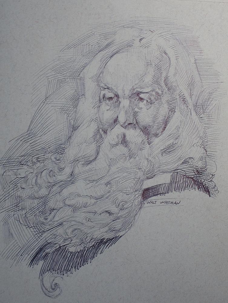 Walt Whitman after John White Alexander