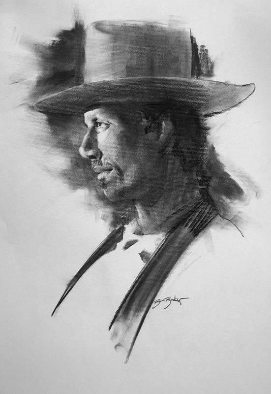 Trevor in Cowboy Costume