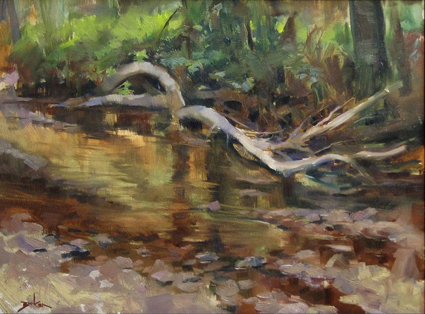 Rock Creek plein air