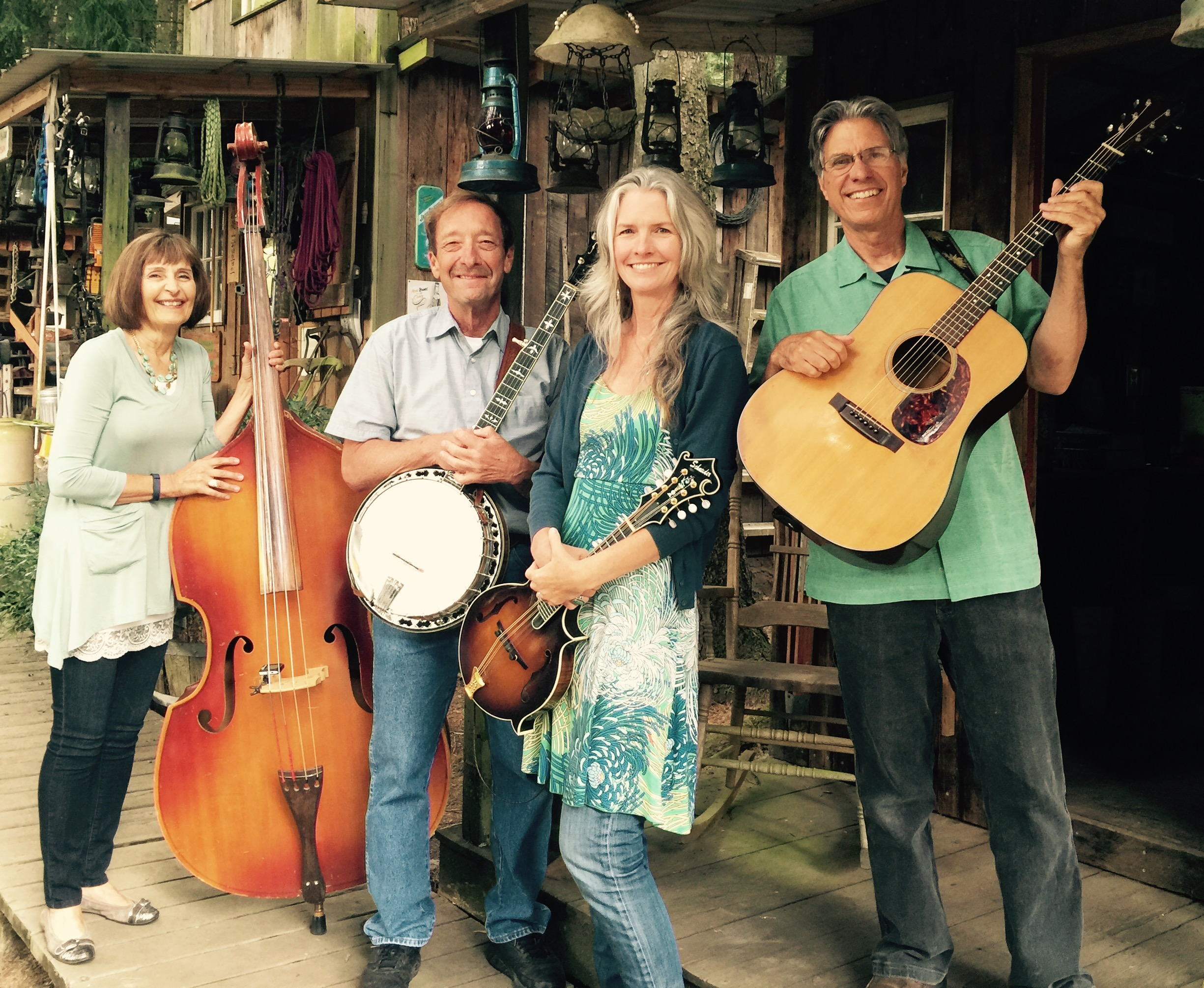 Dee Johnson, Mike Stahlman, Linda Leavitt and Greg Stone.