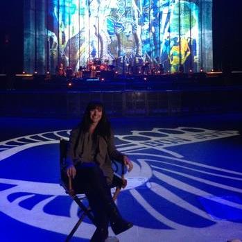 "Sooner on Bon Jovi   Sooner Routhier talks about her work as lighting director running lights for PEDG's design of Bon Jovi's ""Because We Can"" tour."