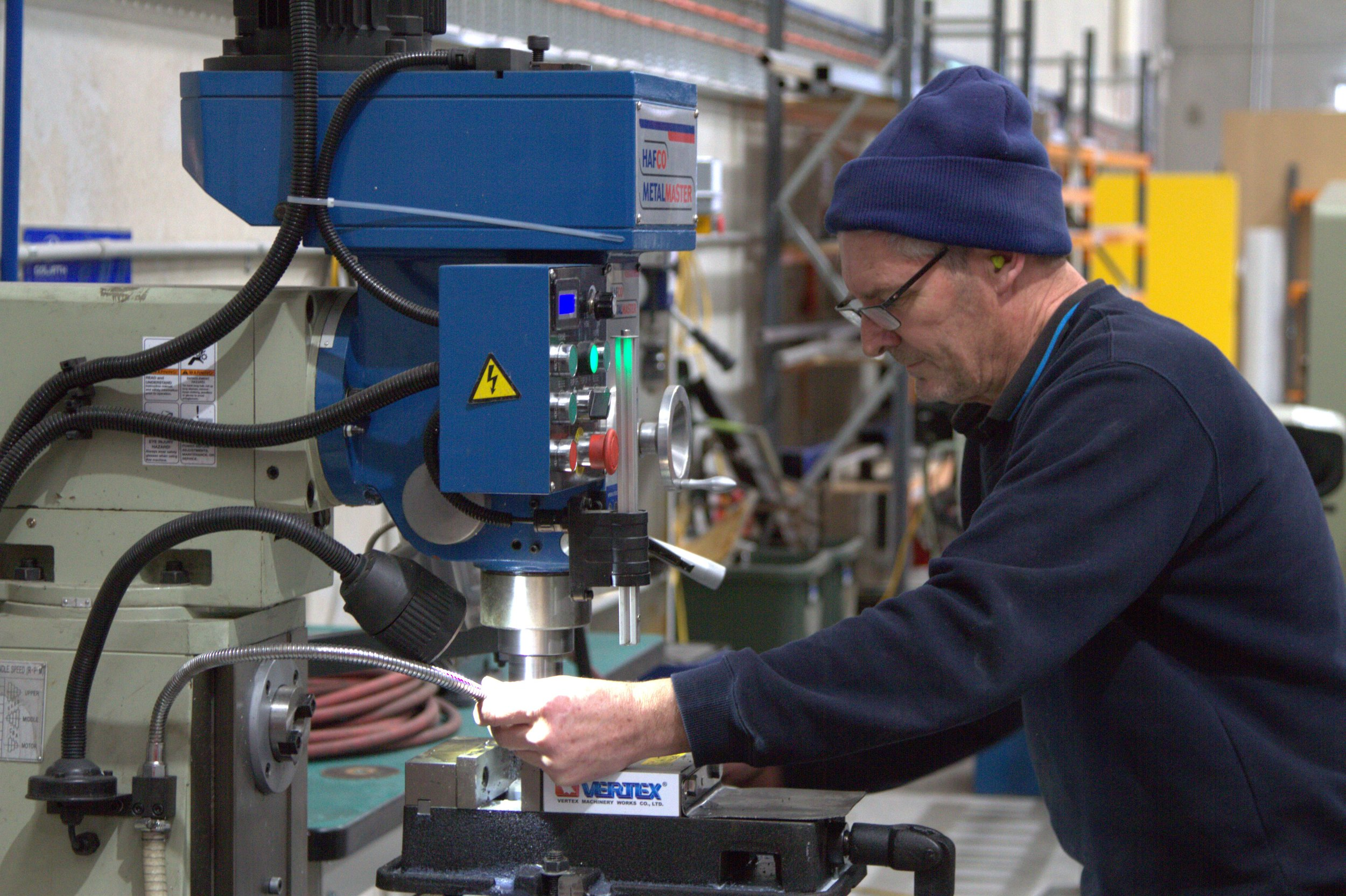 Manufacturing - Five Rings Aerospace maintains an Australian Parts Manufacture Approval (APMA) and our dedicated workshop located in Tullamarine is able to produce anything from folded sheet metal constructions to welded frames and rigging.