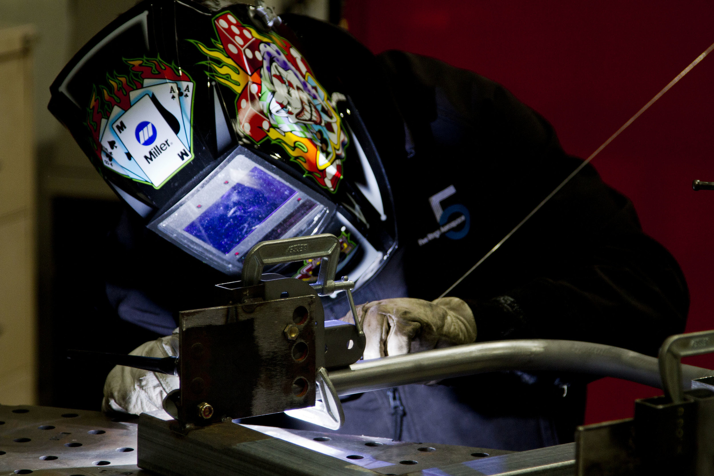 Aerospace Welding - Five Rings Aerospace maintains the capability to weld in house and is able to provide high quality welding solutions to solve any problem.